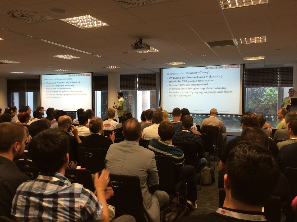 Measurecamp 5: keynote